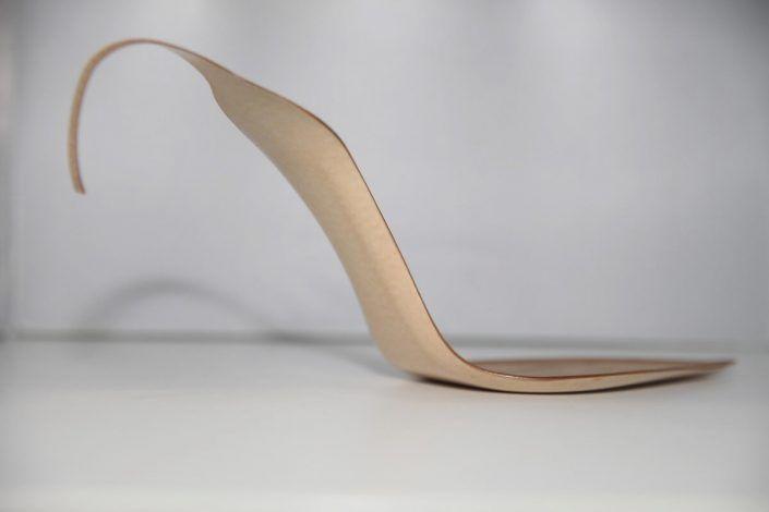 Suelas para zapatos de tacón.