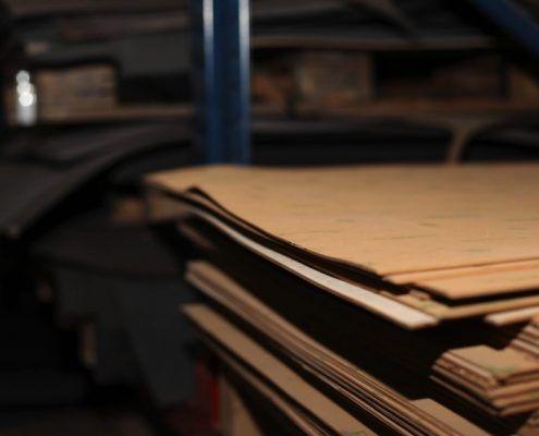 Cuero para la fabricación de suelas de calidad