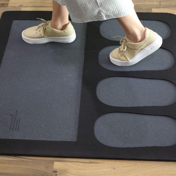 alfombra desinfectante doble